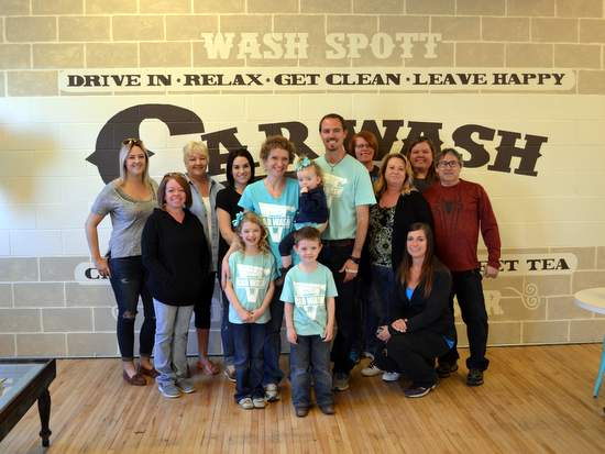 Wash Spott with Lamar Chamber and Honkers.  Center-Shea and Matt Reinhardt