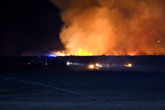 High School Grass Fire (2)
