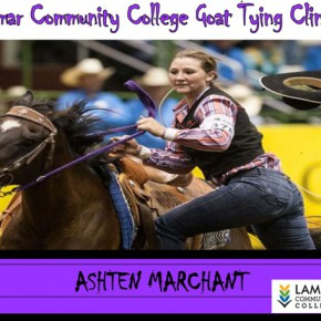 LCC's Marchant to Host Goat Tying Clinic